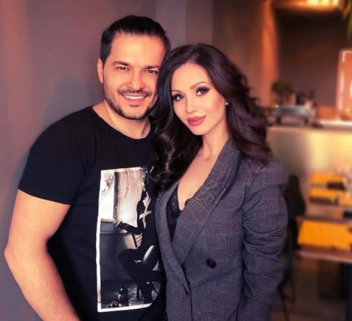 Anda Călin și Liviu Vârciu, îmbrățișați.