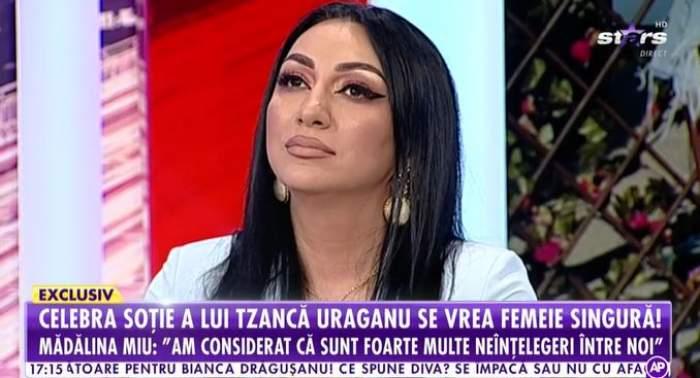 Captură cu Mădălina Miu la Antena Stars.