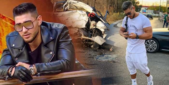 """Bogdan Mocanu, la un pas de tragedie, în urma unui accident rutier: """"Celălalt pasager era atârnat peste mine""""! Dezvăluiriexclusive laAntena Stars"""