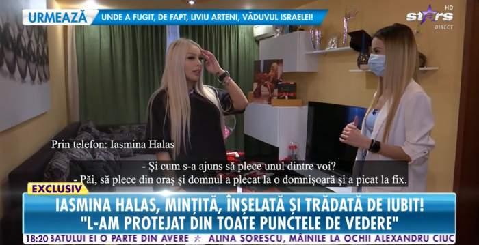 """Motivul despărțirii dintre Iasmina Halas și iubitul său s-a aflat! Infidelitatea tânărului a pus capac: """"Minte cum respiră"""" / VIDEO"""