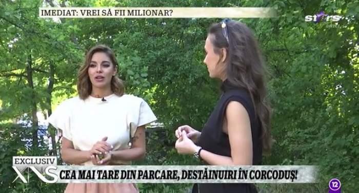 Captură video cu Natalia Mateuț.