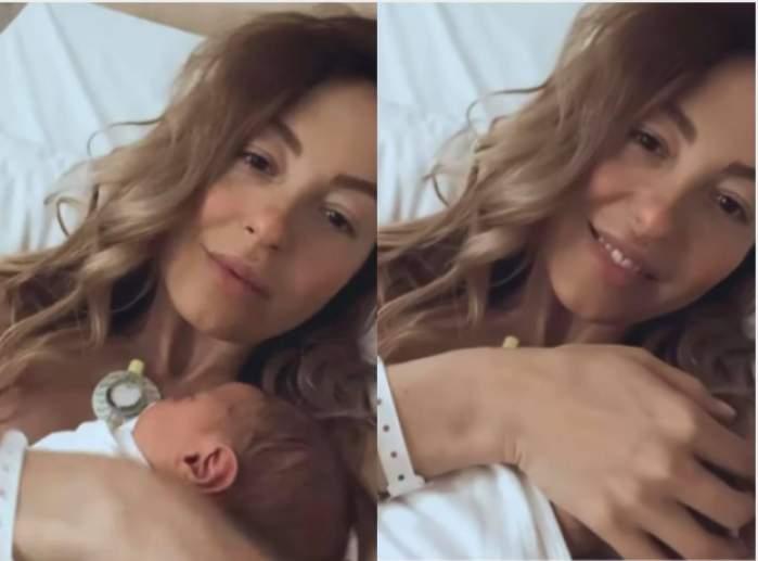 Flavia Mihășan a născut. Fosta asistentă TV, imagini emoționante cu bebelușul / FOTO