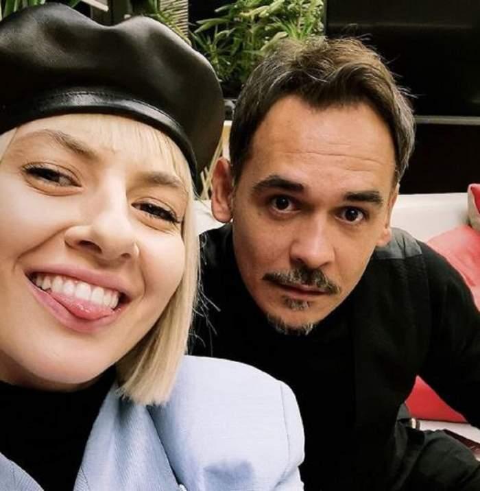 Lidia Buble și Răzvan Simion în perioada în care formau un cuplu.