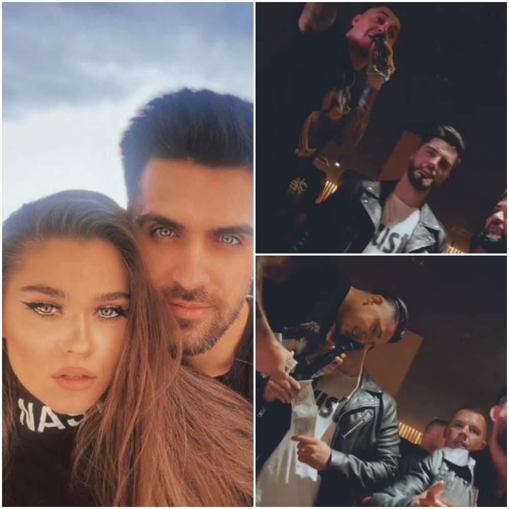 Colaj cu Alex Leonte și Theo Rose, selfie/ Bogdan de la Ploiești și Alex Leonte la o petrecere.