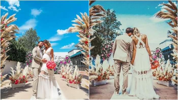 Colaj cu Dani Oțil și Gabriela Prisăcariu de la nuntă.