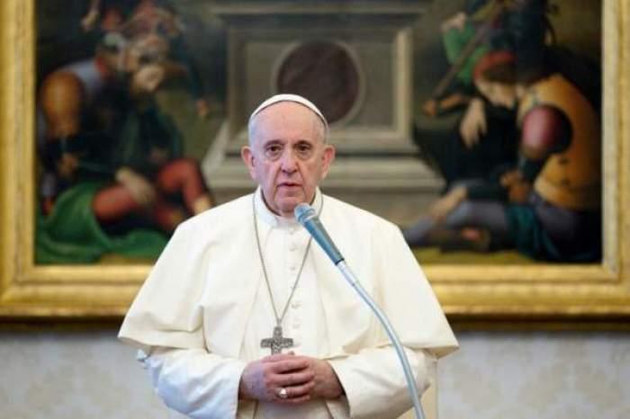 """Papa Francisc, apel pentru pace în Orientul Mijlociu. Liderul de la Vatican își exprimă îngrijorarea: """"Este teribil și inacceptabil"""""""