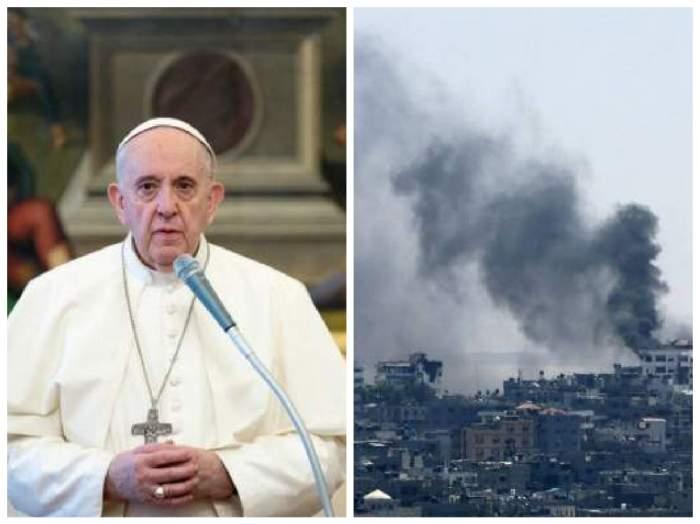 Papa Francisc și un atac în Palestina