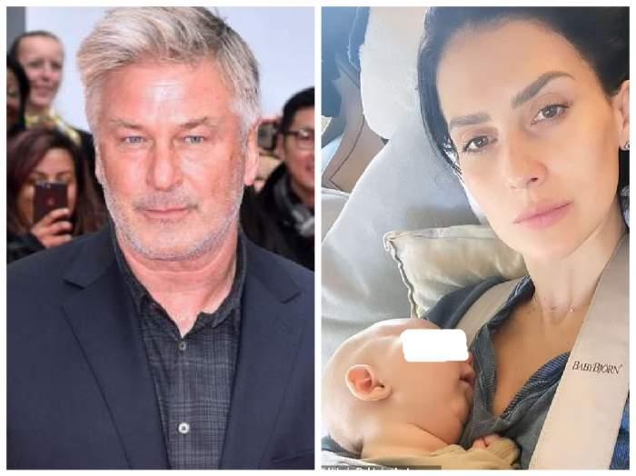 Alec Baldwin, soția lui și copilul lor