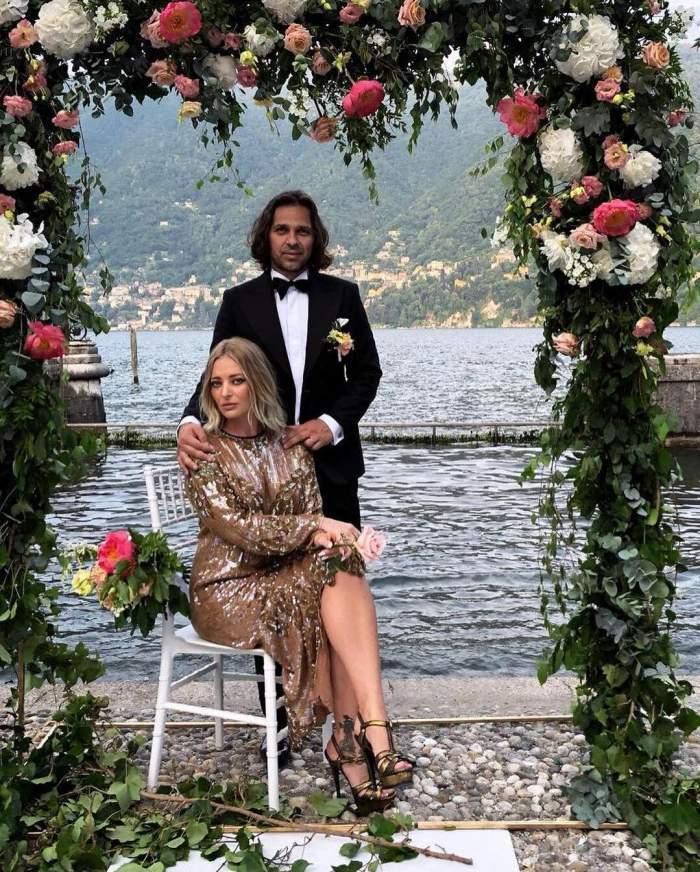 Delia și Răzvan Munteanu la un eveniment monden.