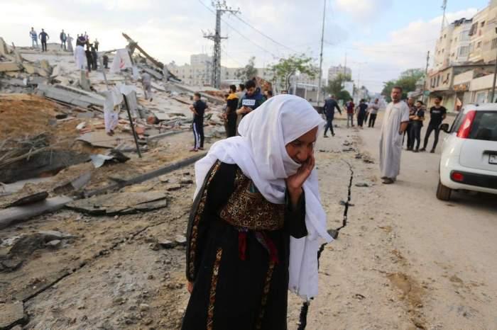 Peste 30 de morți, dintre care 13 copii în luptele violente din Fâșia Gaza. Atacurile aeriene asupra Israelului au făcut ravagii