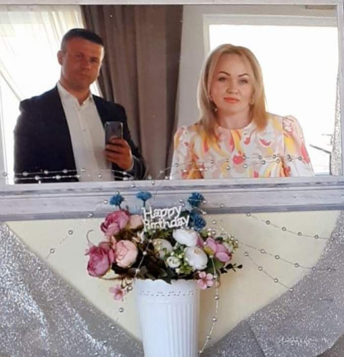 Victorina Matveev alături de soțul său.
