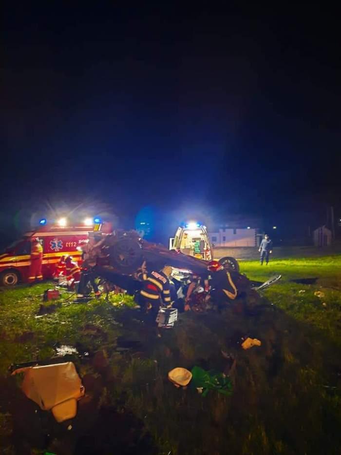 Dezvăluiri șocante despre accidentul de la Suceava, în care au murit trei tineri. Șoferul bolidului de lux nu avea permis de conducere și era sub control judiciar