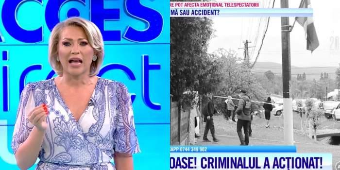 """Mirela Vaida, reacție dură la adresa autorităților! Prezentatoarea, șocată de crima din Argeș: """"El a stat la un metru de mine"""" / VIDEO"""