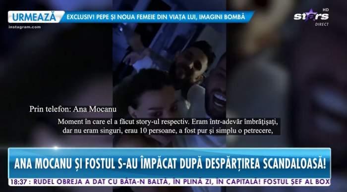 Ana Mocanu si Rares au fost vazuti in club, imbratisati
