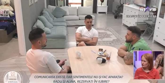 Radu și alți concurenți în casa Mireasa