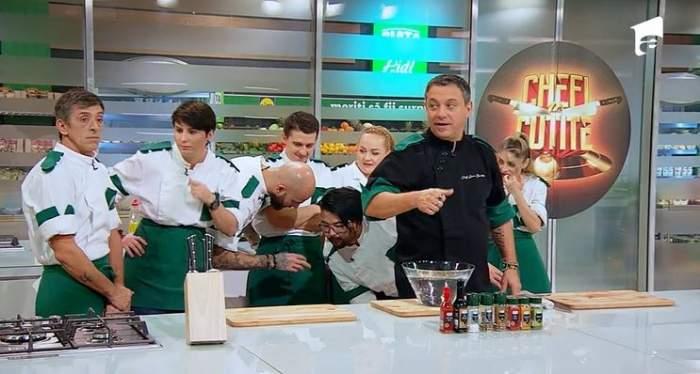 Super Foods, ingredientele care le-au dat bătăi de cap concurenților de la Chefi la cuțite! Echipele s-au întrecut într-o probă de îndemânare / VIDEO