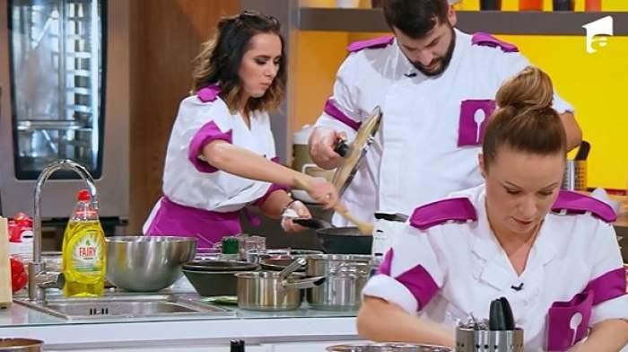 Concurenți din echipa lui chef Scărlătescu, la Chefi la cuțite