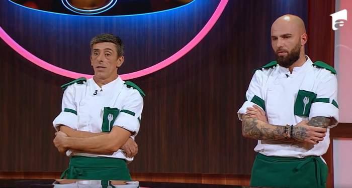 Doi concurenți  de la Chefi la cuțite la eliminare