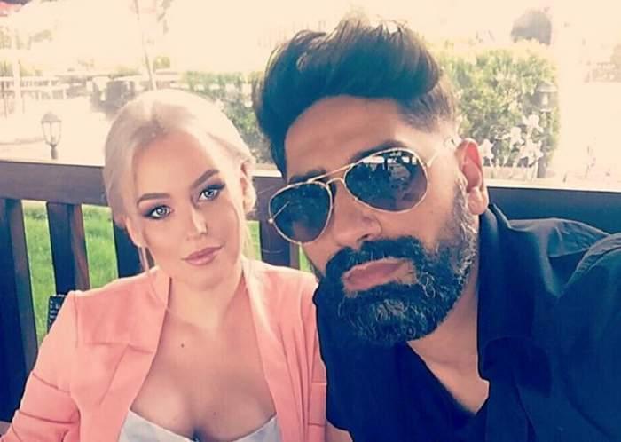 Connect-R și Misha în perioada în care formau un cuplu.