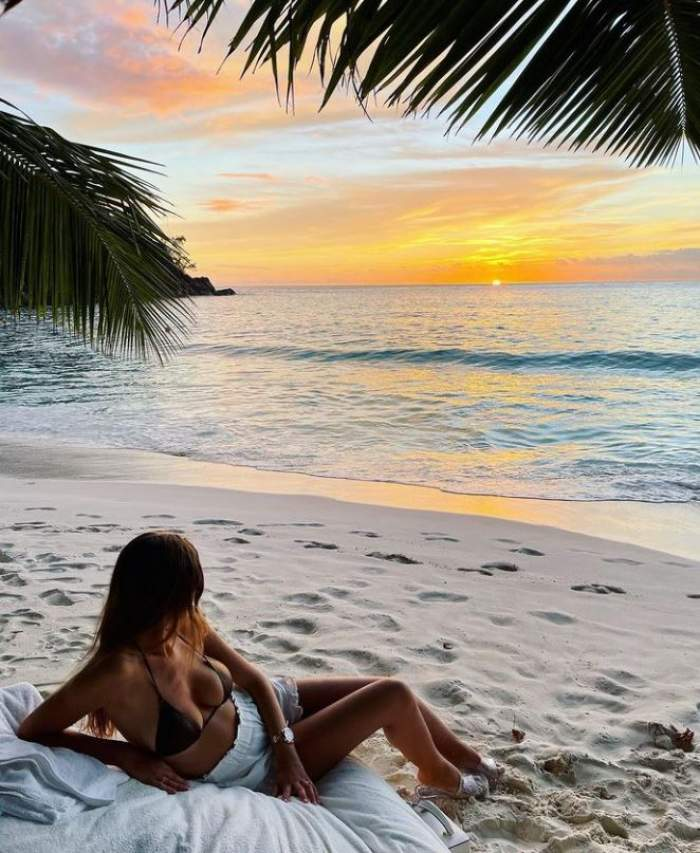 Cum o răsfață Cristian Boureanu pe Laura Dincă în vacanța din Seychelles! Afaceristul scoate din buzunar sume uriașe