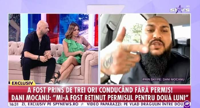 """Dani Mocanu, declarații exclusive la Antena Stars, după condamnarea la închisoare cu executare: """"Mă duc la pușcărie ca la hotel"""". Ce acuzații face artistul / VIDEO"""