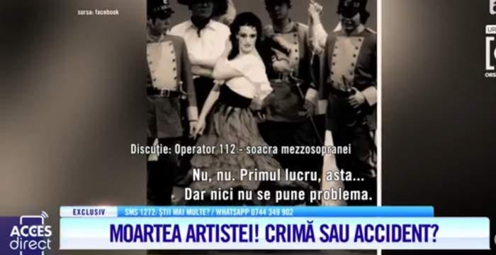Acces Direct. Înregistrarea la 112 a apelului făcut de soacra Mariei Macsim Nicoară. Ce i-a spus femeia operatorului / VIDEO