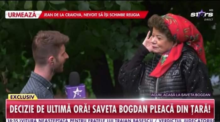 Saveta Bogdan, la Antena Stars