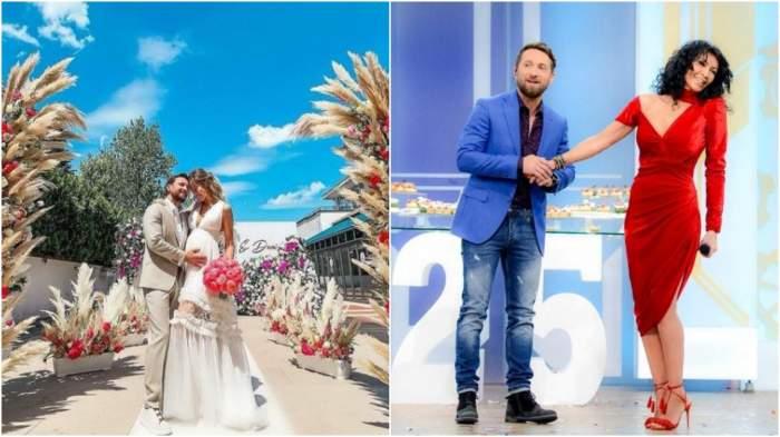 Colaj cu Dani Oțil și Gabriela Prisăcariu de la nuntă/ Dani Oțil și Mihaela Rădulescu, în platou la Neatza.