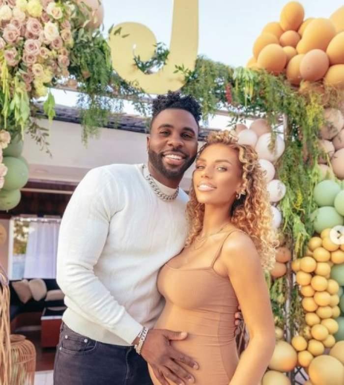 Jason Derulo și iubita lui Jena Frumes însărcinată