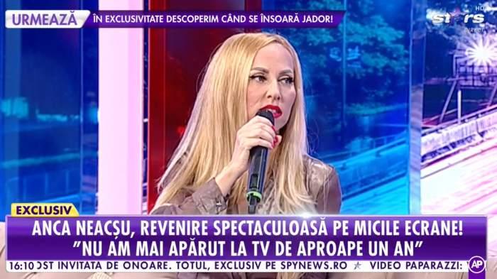 Anca Neacșu de la A.S.I.A, pentru prima oară la TV, după un an! De ce nu a mai apărut în lumina reflectoarelor / VIDEO