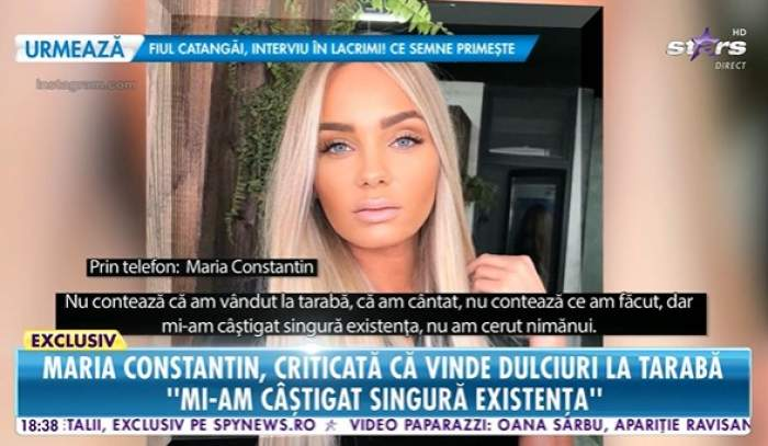 Maria Constantin, la Antena stars