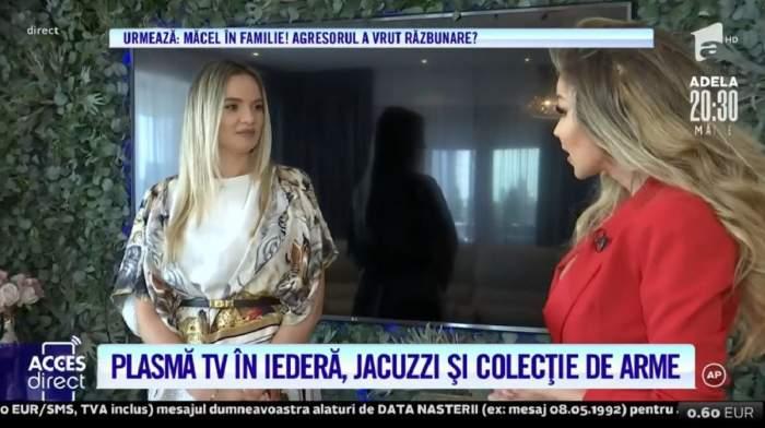 """Acces Direct. Casa unei celebre doctorițe din România, la un pas să se facă scrum. Ce sperietură a tras Raluca, gravidă în 5 luni: """"Am văzut flăcările"""" / VIDEO"""