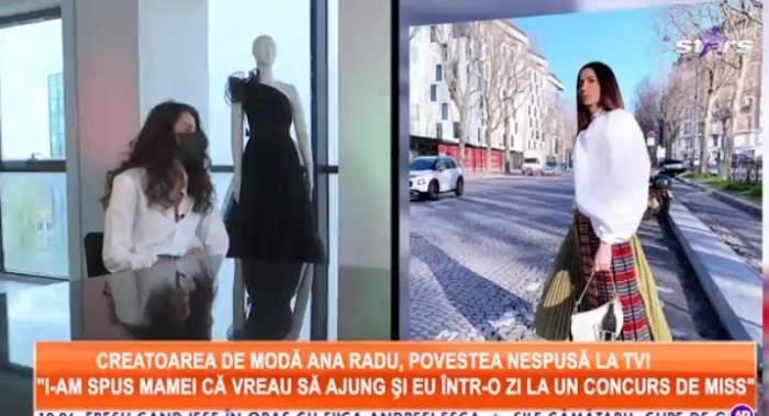 Colaj foto cu Ana Radu la Antena Stars