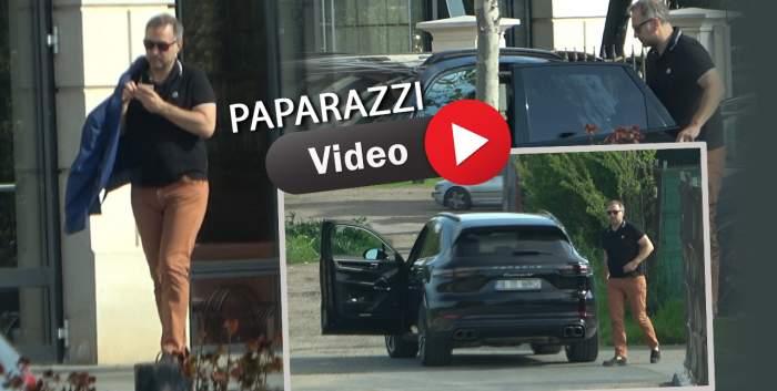 Cum a fost surprins Silviu Văduva, la plecarea din restaurant! Imagini de senzație cu fostul şef al Vămii Bucureşti / PAPARAZZI