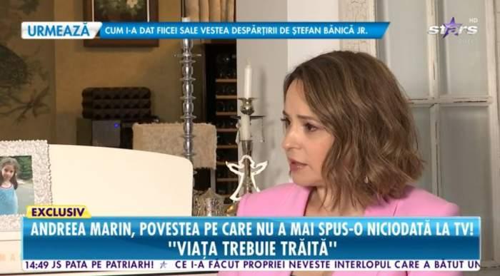 Andreea Marin a povestit la Antena Stars despre relatia cu Adrian Brancoveanu