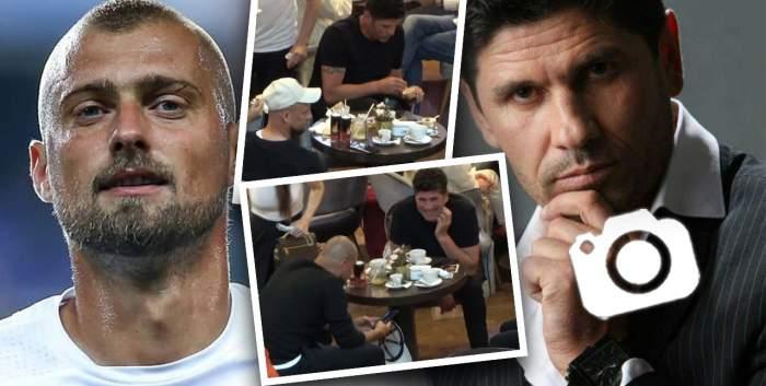 S-a unit loteria cu fotbalul! Stelian Ogică și Gabi Tamaș au dat restaurantele de fițe pe cafenelele din mall-uri! În compania cui au fost surprinși cei doi / PAPARAZZI