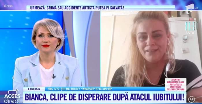 """Acces Direct. Cazul care a făcut-o pe Mirela Vaida să plângă. O tânără alături de toată familia, atacată de fostul iubit: """"Mi-a zis că a venit să mă omoare"""" / VIDEO"""