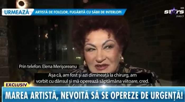 Elena Merișoreanu, la Antena Stars.