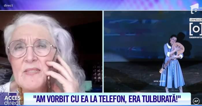 """Acces Direct. Maria Macsim Nicoară, apel disperat înainte de a intra în comă. Ce i-a spus prietenei sale în privința căsniciei. """"A zis că nu mai poate"""" / VIDEO"""