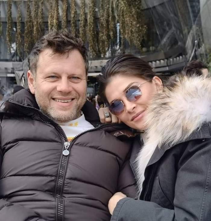 Alina Pușcaș și soțul