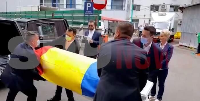 Ce scrie pe crucea lui Ion Dichiseanu. Trupul marelui actor a fost ridicat de la Spitalul Floreasca / VIDEO
