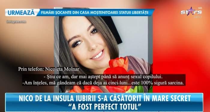 Nicoleta Molnar de la Insula Iubirii, la Antena Stars.