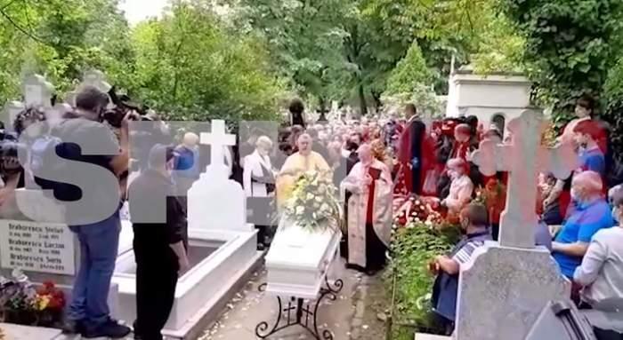 Ion Dichiseanu a fost înmormântat! Fiica regretatului actor, lacrimi și durere la căpătâiul tatălui! Imagini exclusive / VIDEO