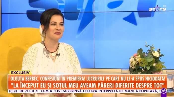 """Olguța Berbec, confesiune despre relațiile pe care le-a avut înainte de Remus Novac: """"Am învățat că și când treci prin iad, să nu te oprești"""" / VIDEO"""