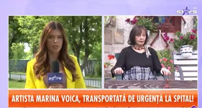 Marina Voica, operată de urgență! Care este starea de sănătate a artistei, după ce a suferit complicații majore