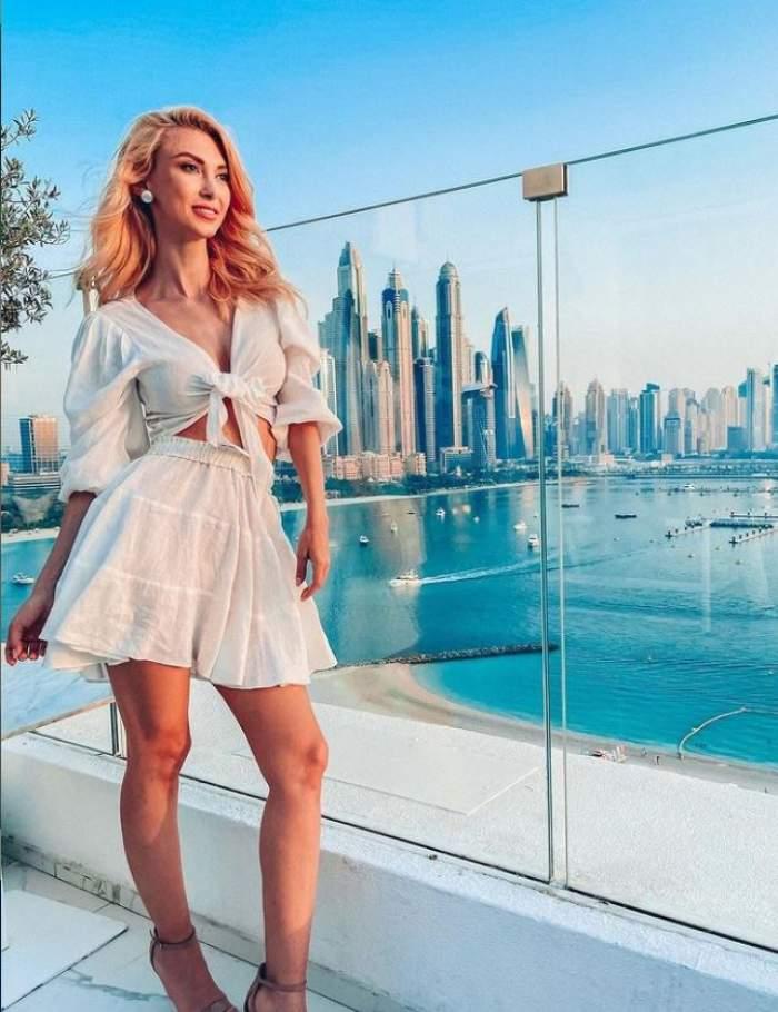 Andreea Bălan și Tiberiu Argint au împlinit un an de relație! Iubitul juratei de la Te cunosc de undeva a surprins-o cu o vacanță de lux în Dubai! Declarații exclusive / FOTO