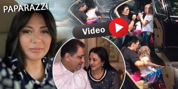 Oana Mizil, soția lui Marian Vanghelie, face orice pentru fiica sa! Cum au fost surprinse cele două, după condamnarea politicianului / PAPARAZZI