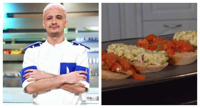 Rețeta de salată de ou a lui Keed. Concurentul Chefi la cuțite a obținut 15 puncte cu preparatul său / VIDEO