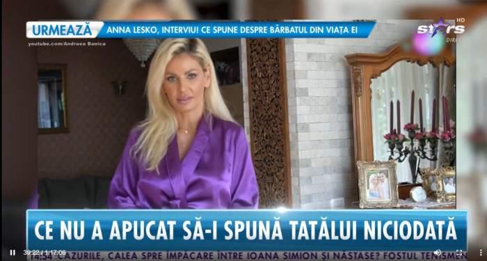 """Andreei Bănică și-a pierdut ambii părinți la vârste fragede! Declarațiile cutremurătoare ale artistei: """"L-au lăsat să moară"""" / VIDEO"""
