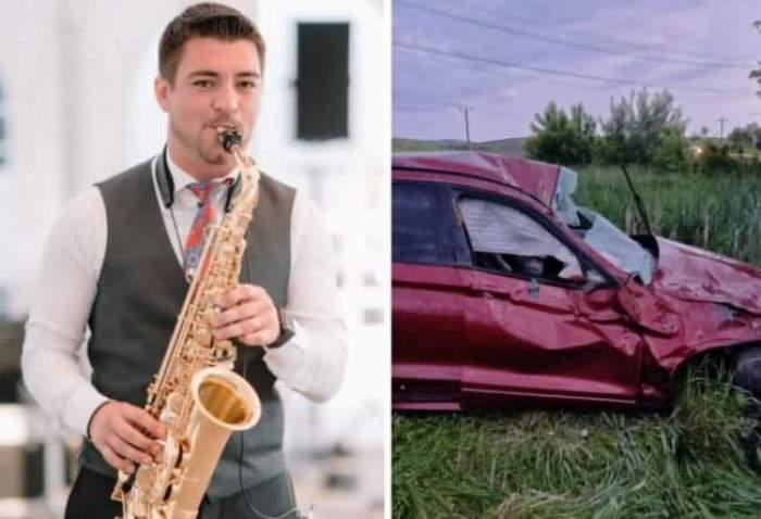 Cine a fost Iulian Cojocaru, tânărul saxofonist care a murit într-un accident auto, în Botoșani